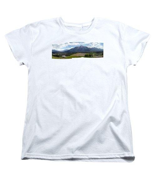 On A Butteiful Day Women's T-Shirt (Standard Cut) by Ron Bissett