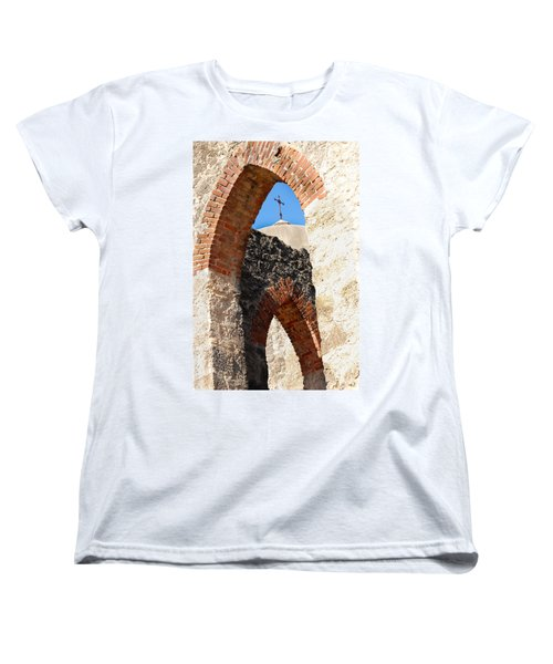 Women's T-Shirt (Standard Cut) featuring the photograph On A Mission by Debbie Karnes