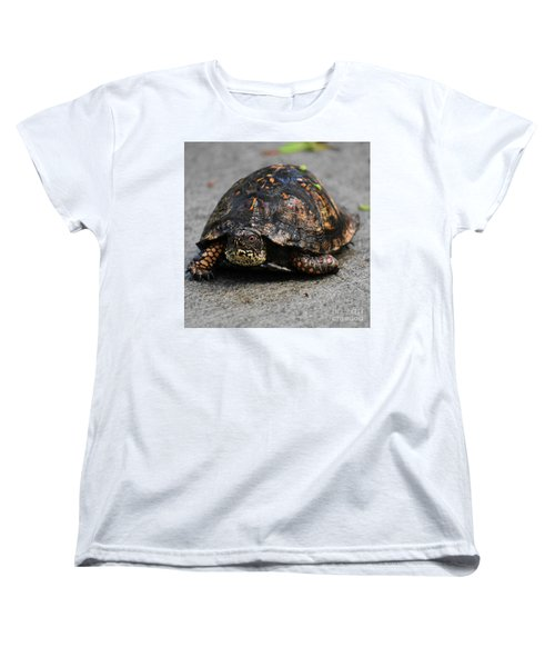 Women's T-Shirt (Standard Cut) featuring the photograph On A Mission by Skip Willits