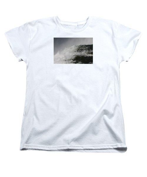 On Edge Women's T-Shirt (Standard Cut) by Vadim Levin