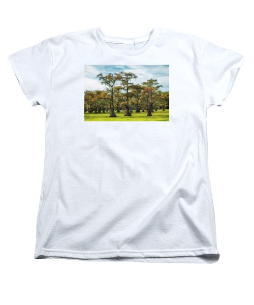 On Green Bayou Women's T-Shirt (Standard Cut)