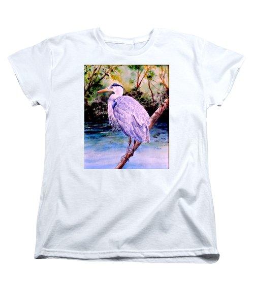 On The Lookout Women's T-Shirt (Standard Cut) by Sher Nasser