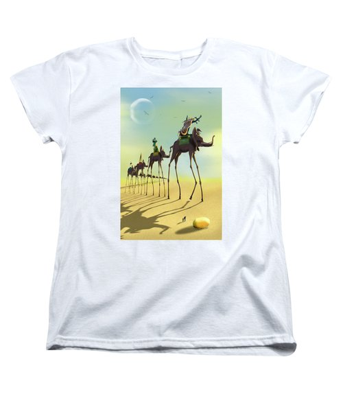 On The Move 2 Women's T-Shirt (Standard Cut) by Mike McGlothlen