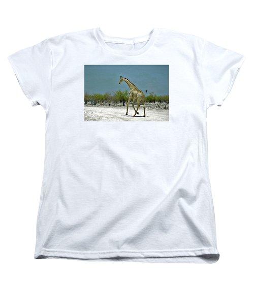 Women's T-Shirt (Standard Cut) featuring the digital art On The Run Again by Ernie Echols