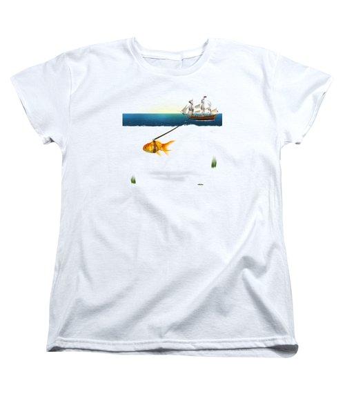 On The Way  Women's T-Shirt (Standard Cut)