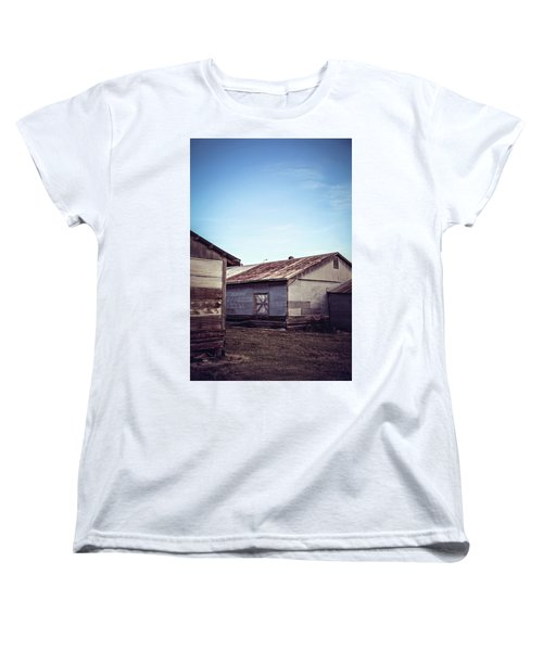 Women's T-Shirt (Standard Cut) featuring the photograph Once Industrial - Series 2 by Trish Mistric