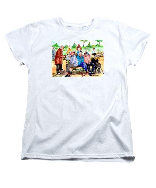 Once Upon A Park Bench Women's T-Shirt (Standard Cut)