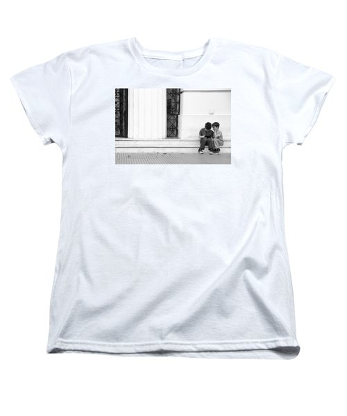 Online Women's T-Shirt (Standard Cut) by Silvia Bruno