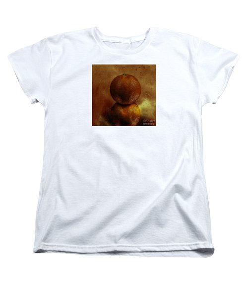 Orange Art Women's T-Shirt (Standard Cut)