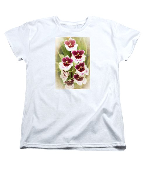 Orchid 2 Women's T-Shirt (Standard Cut) by Catherine Lau