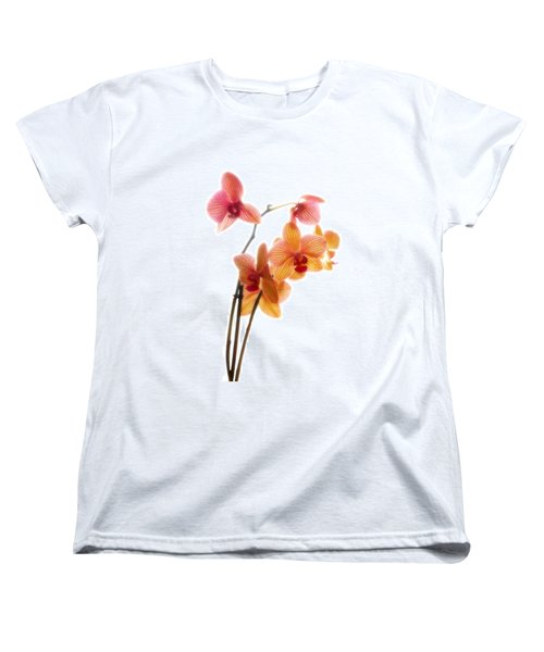 Orchids Women's T-Shirt (Standard Cut) by Mark Alder
