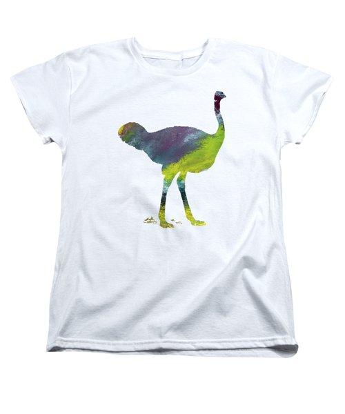 Ostrich Women's T-Shirt (Standard Cut) by Mordax Furittus