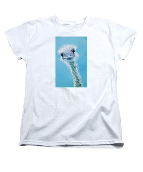 Ostrich Painting Women's T-Shirt (Standard Cut)