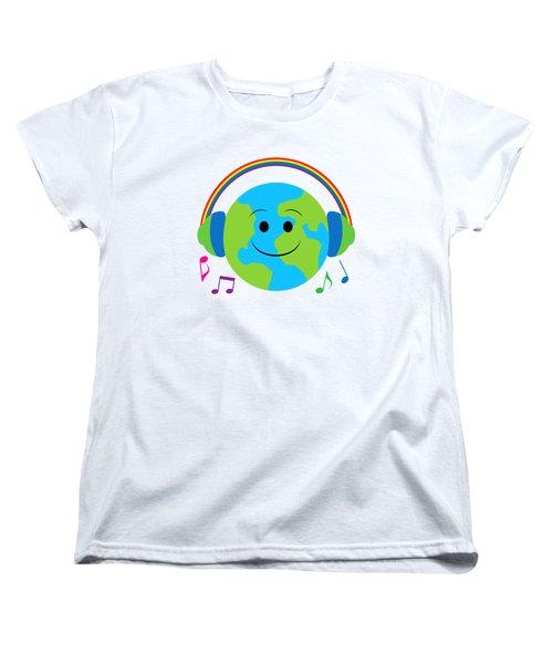 Our Musical World Women's T-Shirt (Standard Cut) by A