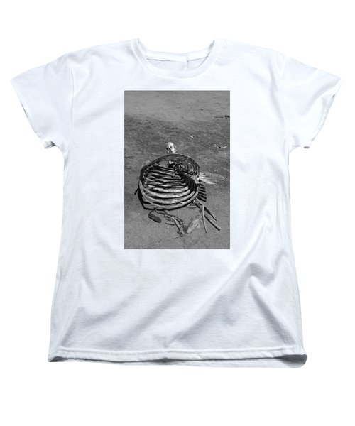 Women's T-Shirt (Standard Cut) featuring the photograph Out Of Control by Marie Neder