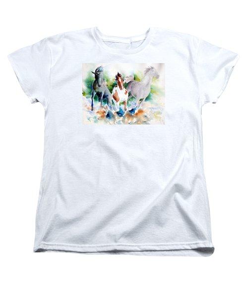 Out Of Nowhere Women's T-Shirt (Standard Cut)