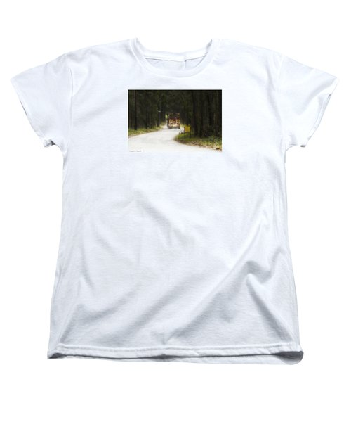 Women's T-Shirt (Standard Cut) featuring the photograph Over Size 01 by Kevin Chippindall