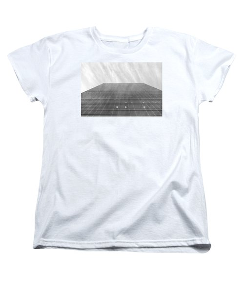 Women's T-Shirt (Standard Cut) featuring the photograph Over The City by Valentino Visentini