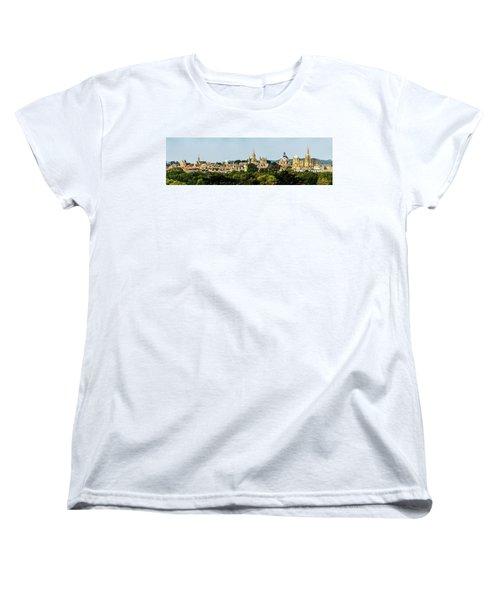 Oxford Spires Women's T-Shirt (Standard Cut) by Ken Brannen
