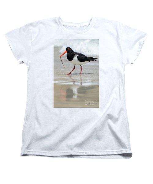 Oystercatcher 03 Women's T-Shirt (Standard Cut) by Werner Padarin
