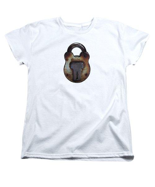 Padlock Women's T-Shirt (Standard Cut) by Tom Conway