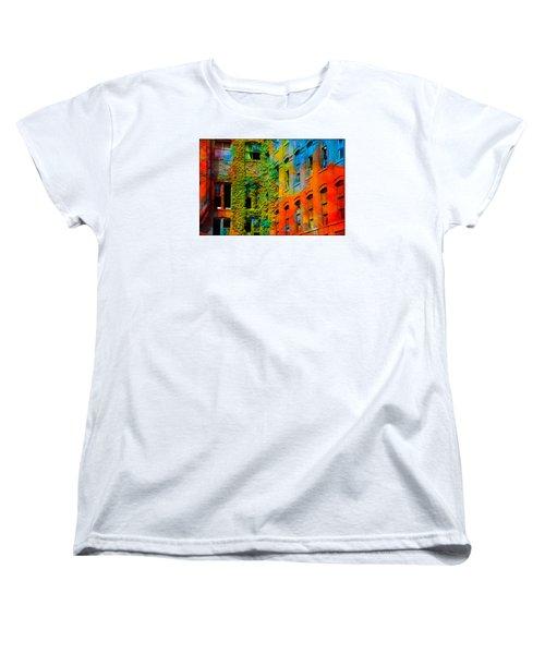 Painted Windows Women's T-Shirt (Standard Cut)
