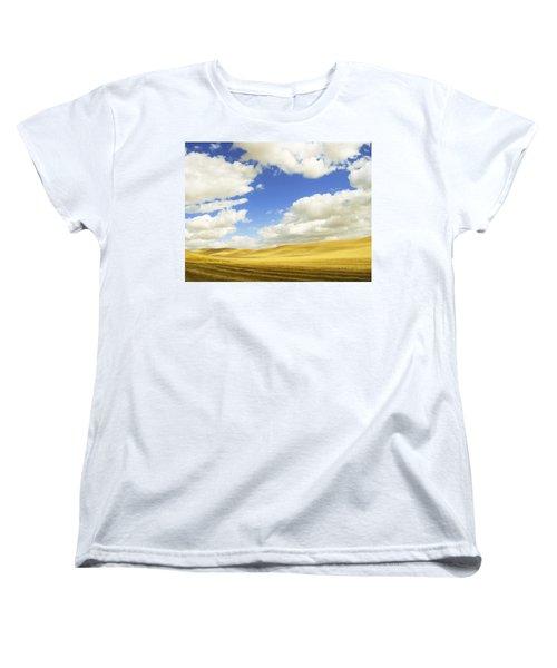 Palouse Valley Women's T-Shirt (Standard Cut) by Anne Mott