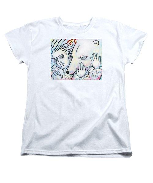 Pals Women's T-Shirt (Standard Cut) by Angela Treat Lyon