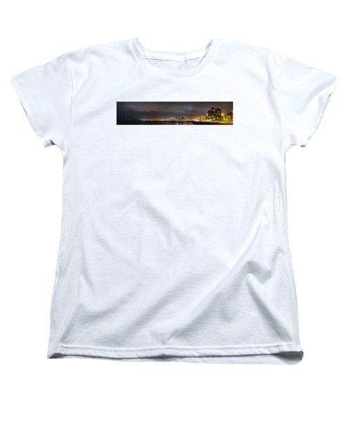 Panorama Of Reykjavik Iceland Women's T-Shirt (Standard Cut) by Joe Belanger