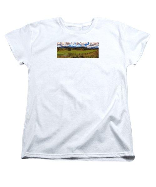 View Of The San Juans Women's T-Shirt (Standard Cut) by Rick Furmanek