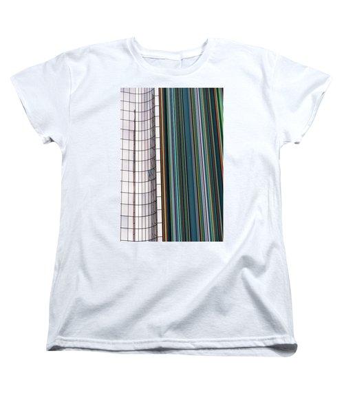 Paris Abstract Women's T-Shirt (Standard Cut)