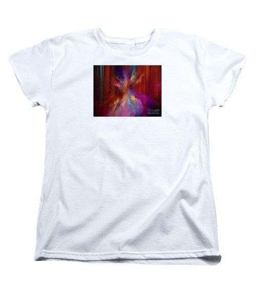 Paris At Night Women's T-Shirt (Standard Cut) by Jim  Hatch