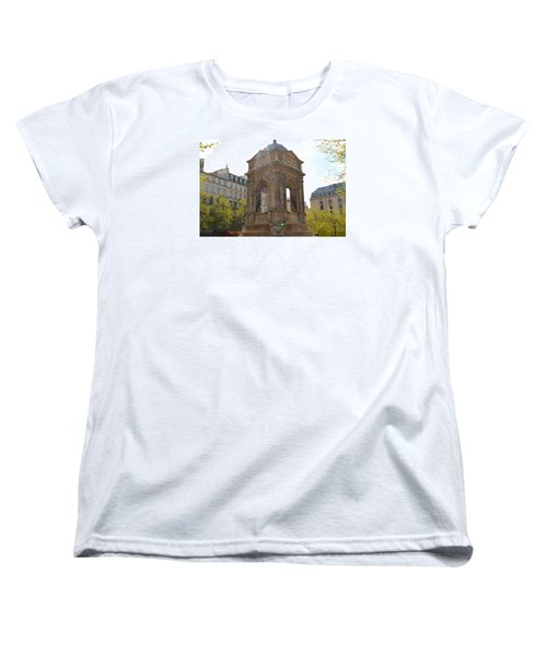 Paris Women's T-Shirt (Standard Cut) by Kaitlin McQueen