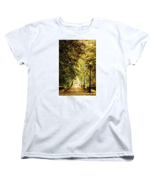 Park Lane Women's T-Shirt (Standard Cut) by Jaroslaw Grudzinski