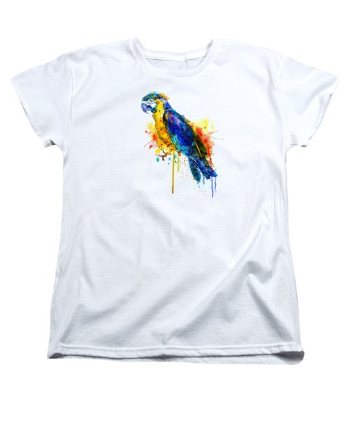 Parrot Watercolor  Women's T-Shirt (Standard Fit)