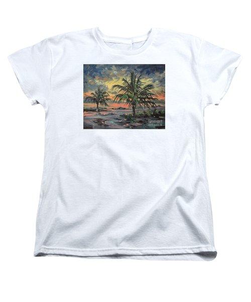 Passing Storm Women's T-Shirt (Standard Cut) by Donald Maier