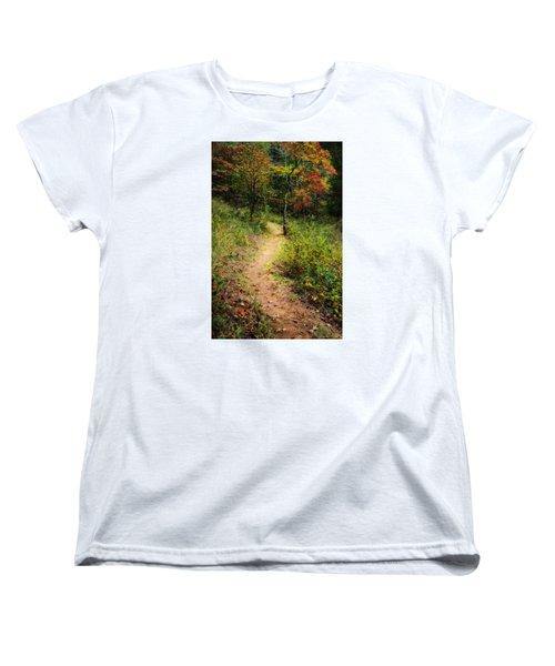 Path In The Prairie Women's T-Shirt (Standard Cut) by Diana Boyd
