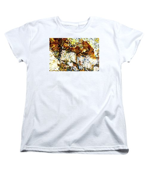 Women's T-Shirt (Standard Cut) featuring the photograph Patterns In Stone - 210 by Paul W Faust - Impressions of Light