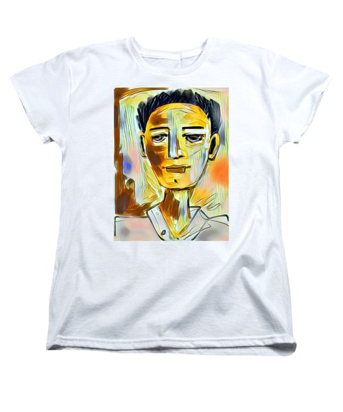 Pauls Portrait Women's T-Shirt (Standard Cut) by Elaine Lanoue