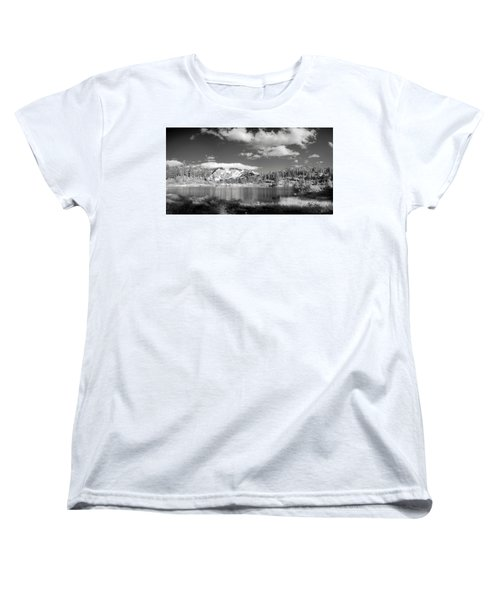 Women's T-Shirt (Standard Cut) featuring the photograph Peaceful Lake by Jon Glaser