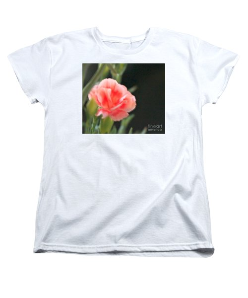 Women's T-Shirt (Standard Cut) featuring the photograph Peach Dream by Cathy Dee Janes