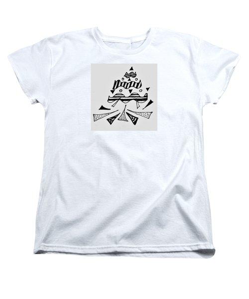 Peak Women's T-Shirt (Standard Cut) by Martin Cline