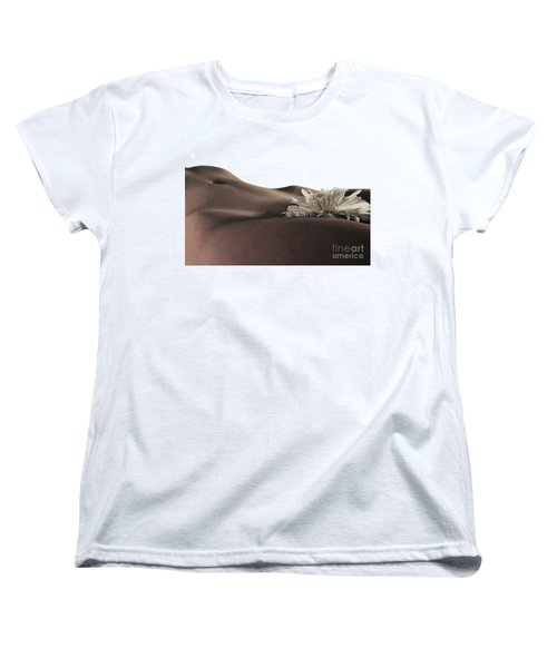Pelvis Petals Women's T-Shirt (Standard Cut) by Robert WK Clark
