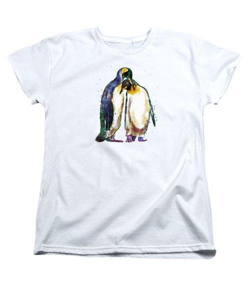Penguin Couple Women's T-Shirt (Standard Fit)