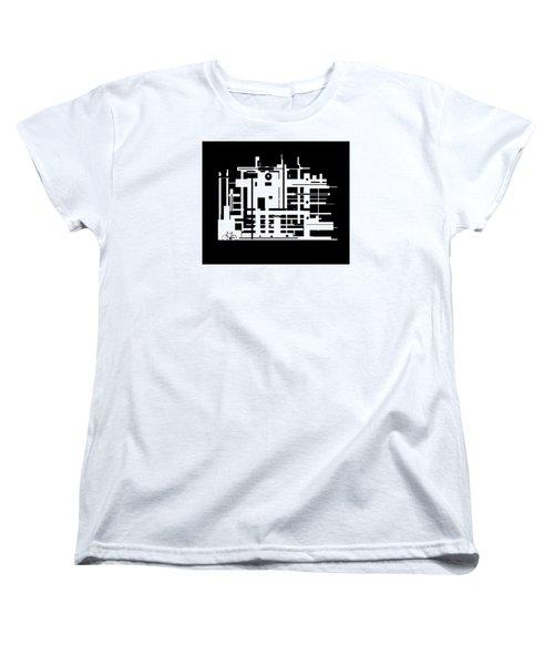 Penman Original-325- The Visitor Women's T-Shirt (Standard Cut) by Andrew Penman
