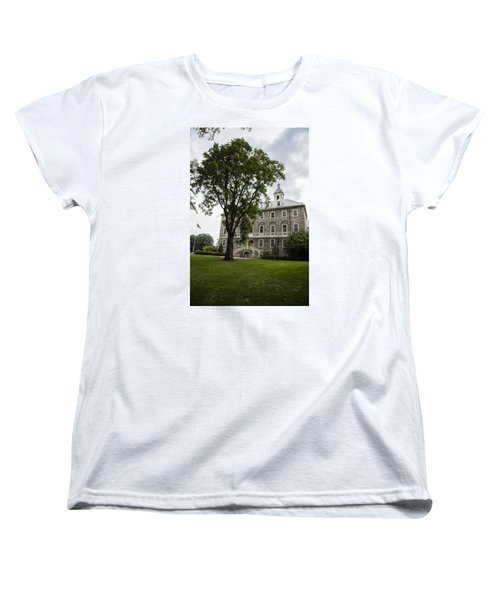 Penn State Old Main From Side  Women's T-Shirt (Standard Cut) by John McGraw