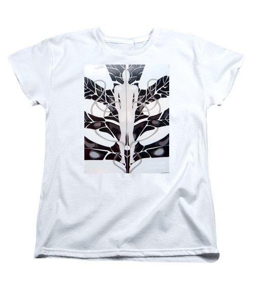 Perfect Balance Women's T-Shirt (Standard Cut) by Linda Shackelford