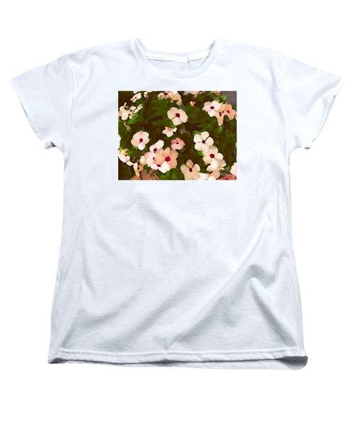 Periwinkle Women's T-Shirt (Standard Cut) by David Blank