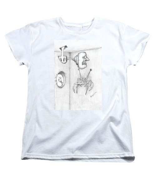 Permanent Fixture Women's T-Shirt (Standard Cut) by Dan Twyman