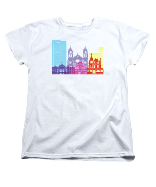 Phoenix Skyline Pop Women's T-Shirt (Standard Cut) by Pablo Romero